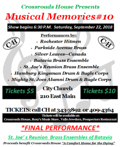 Silver Leaves Brass Excited to Perform @ City Church  | Batavia | New York | United States